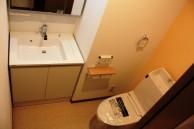 レーヴ弁天町Ⅱ2Fトイレ
